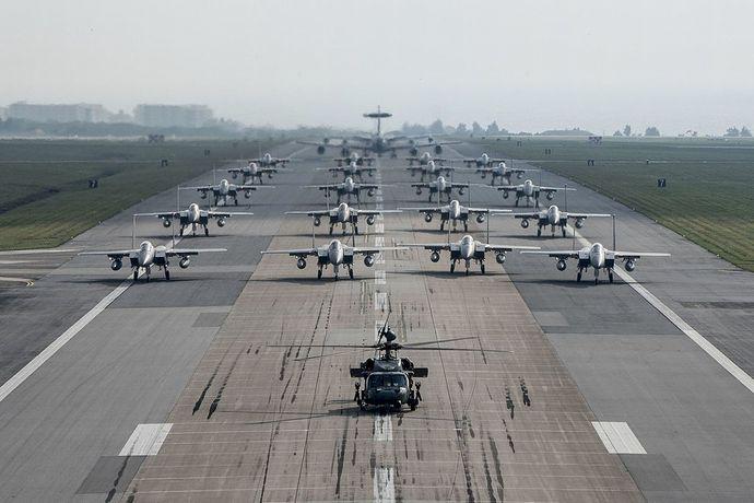 Elephant_walk_at_Kadena_Air_Base_2