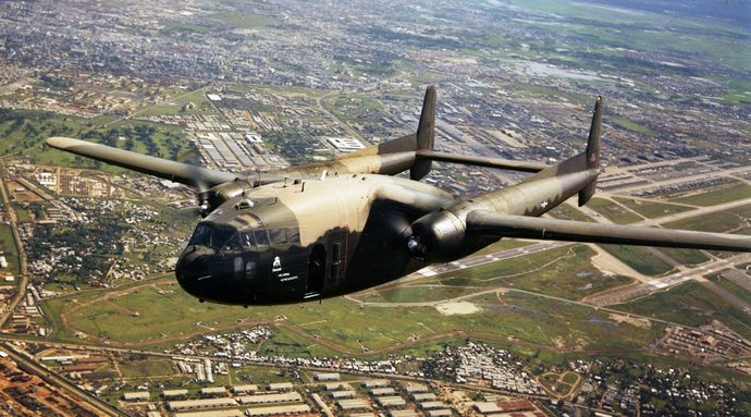 AC-119G_of_17th_SOS_over_Tan_Son_Nhut_Air_Base_1969