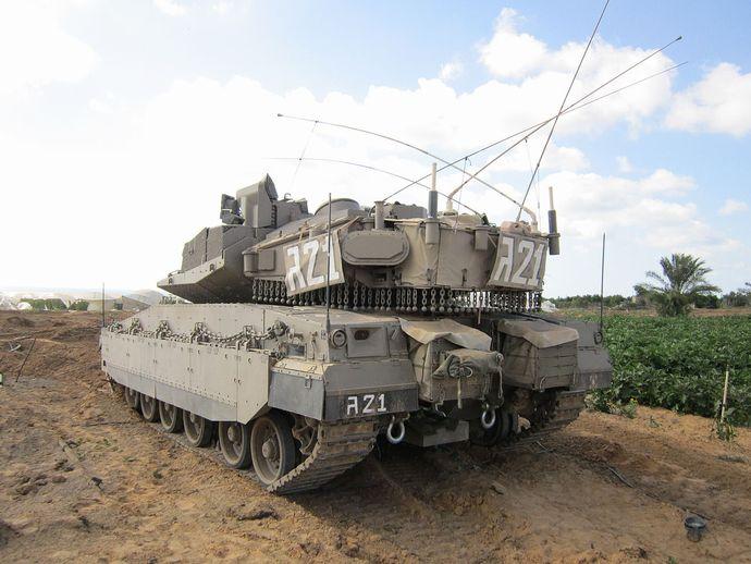 Armored_Corps_Operate_Near_the_Gaza_Border_(14569828759)