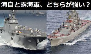日本の海上自衛隊とロシア海軍、どちらが強い?…中国メディア!