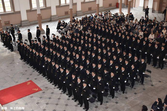 将来の海上自衛隊を担う、第52期一般幹部候補生の卒業式…外洋練習航海のため、練習艦「せとゆき」などに乗船!