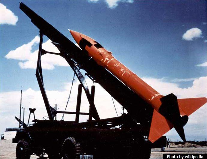 MGR-1_Honest_John_rocket