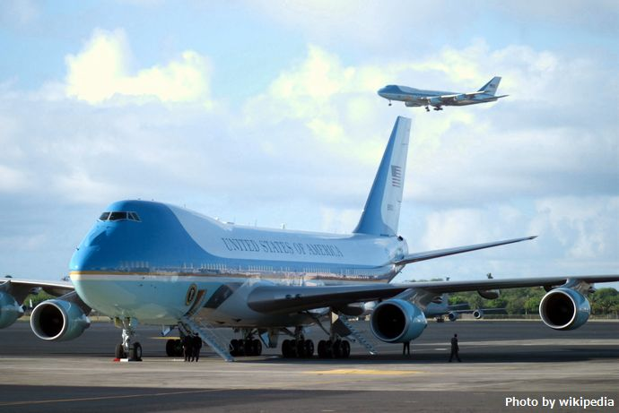 The_two_Boeing_VC-25A_Air_Force_One