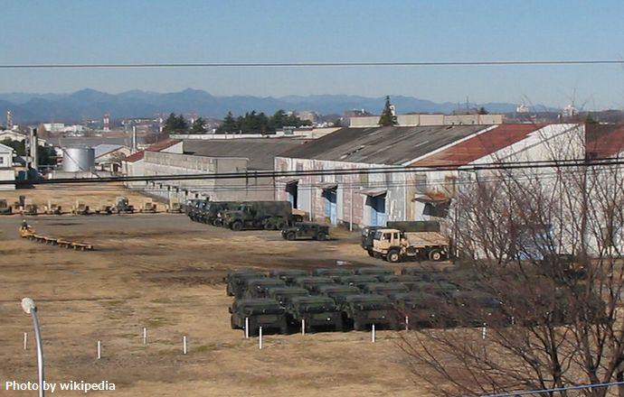 Sagami_General_Depot_with_vehicle