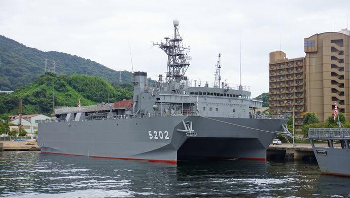 JS_Harima(AOS-5202)_in_Kure_Naval_Base_20140915
