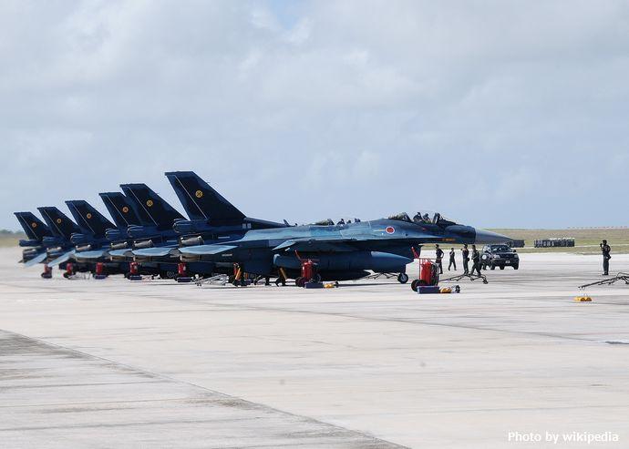 JASDF_F-2_fighters