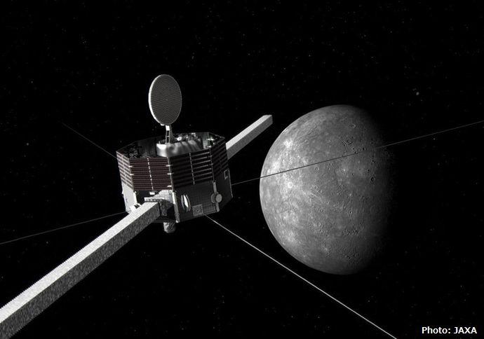日本初の水星探査機「みお」、欧州探査機「MPO」とともに20日打ち上げ…到着までは7年の長旅!