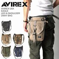 AVIREX アビレックス イーグル レッグ&ショルダー 2WAY バッグ avx348l
