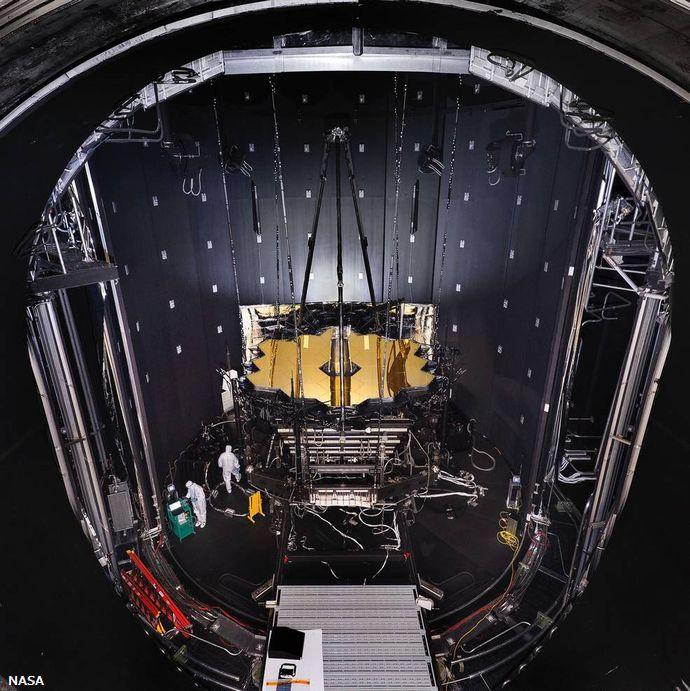 ハッブル宇宙望遠鏡の後継機と位置づけられるジェームズ・ウェッブ望遠鏡の打ち上げ準備着々…NASA!