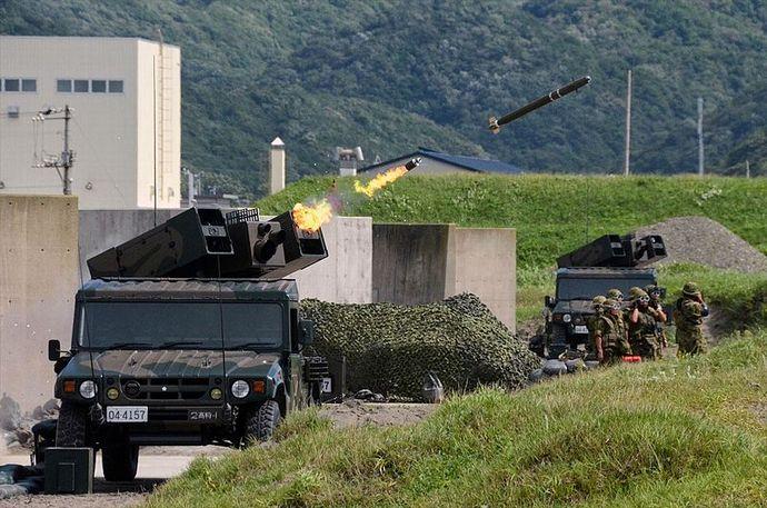 93式式近距離地対空誘導弾(第2高射特科大隊)