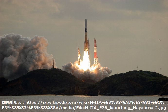 H-IIA_F26_launching_Hayabusa-2