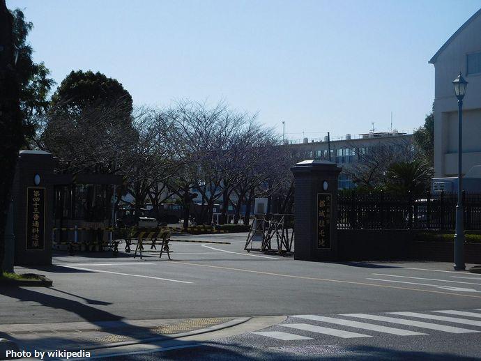 JGSDF_Camp_Miyakonojo_Gate_2015