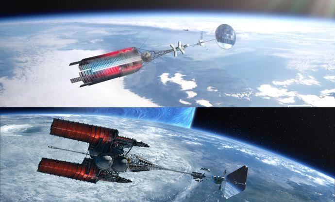 ロシア国営企業「ロスコスモス」が原子力推進の新型宇宙船モデルを公開…SF映画「アバター」に登場する宇宙船にそっくり!