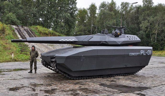 PL01 tank