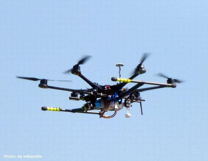 Drone_in_the_sky,_San_Carlos_de_Apoquindo,_Santiago_de_Chile.