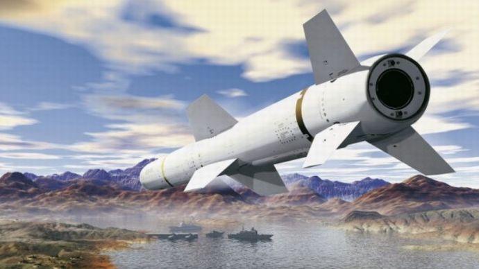 Boeing Harpoon Block II missile