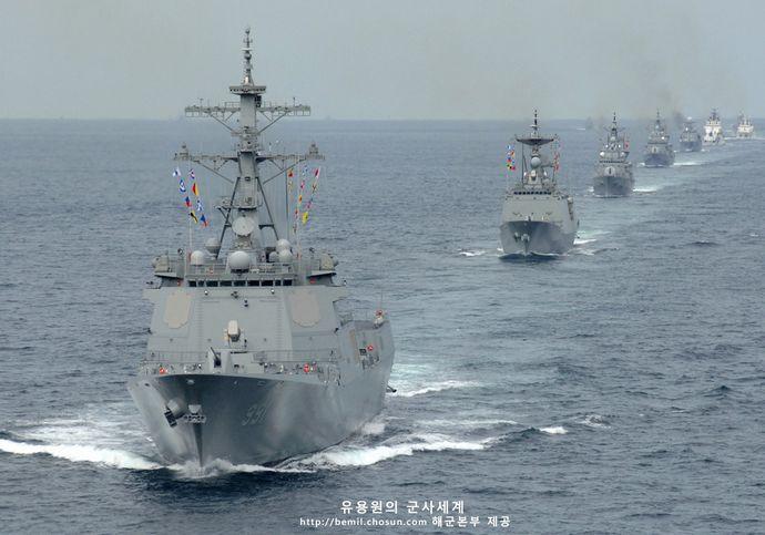 韓国軍の戦闘艦150隻、北朝鮮は750隻…「軍の戦力補強が急がれる」!