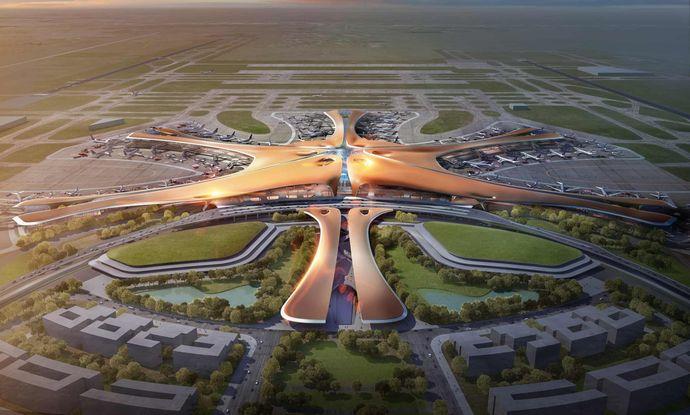 北京に新設される「北京大興国際空港」が来年開業へ…愛称は「ヒトデ」!