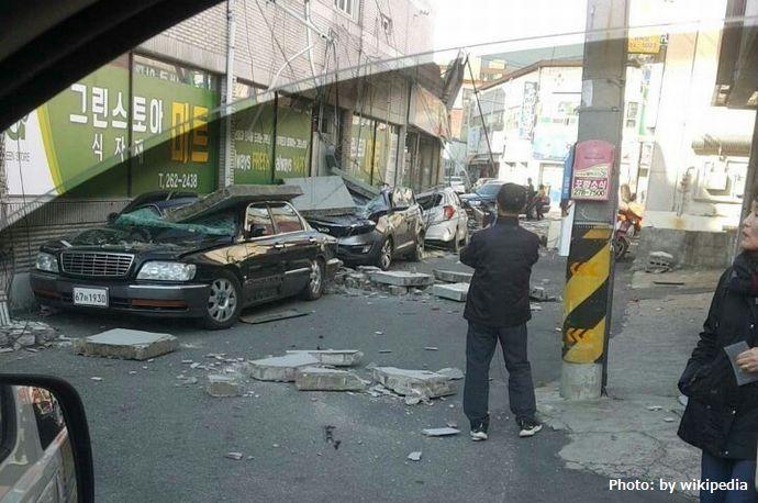 2017_Pohang_earthquake_car_damage
