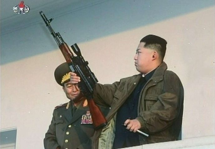 Kim-Jong-Un-Heldenmythos