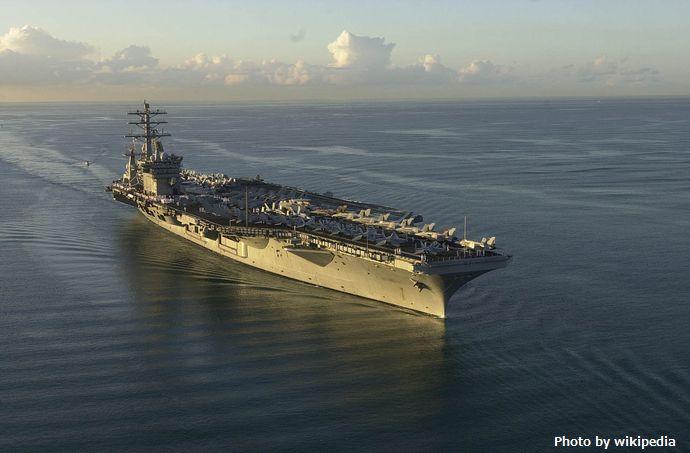 米海軍の原子力空母ニミッツが出港、ペルシャ湾に向かう予定で、朝鮮半島付近では活動せず…CNN!
