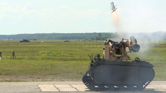 Javelin-Firing-from-Titan-UGV