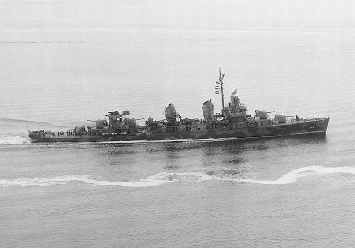 USS_Fletcher_(DD-445)_off_New_York,_1942