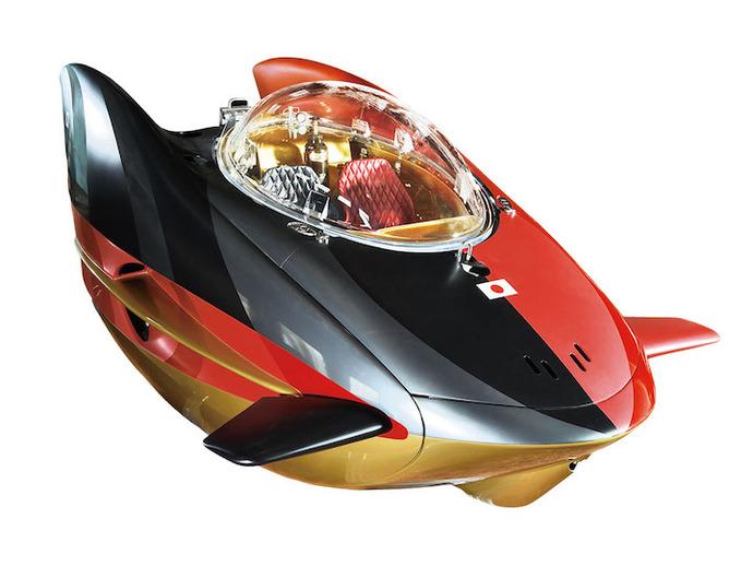 夢の水中ドライブのお値段は総額約2億円…国産プライベート潜水艇「JAPANG」がついに進水!