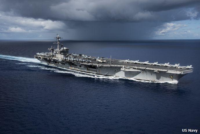 韓国海軍も米海軍空母カール・ビンソンと日本海で合同演習を実施すると発表!
