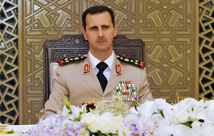 Bashar+al-Assad