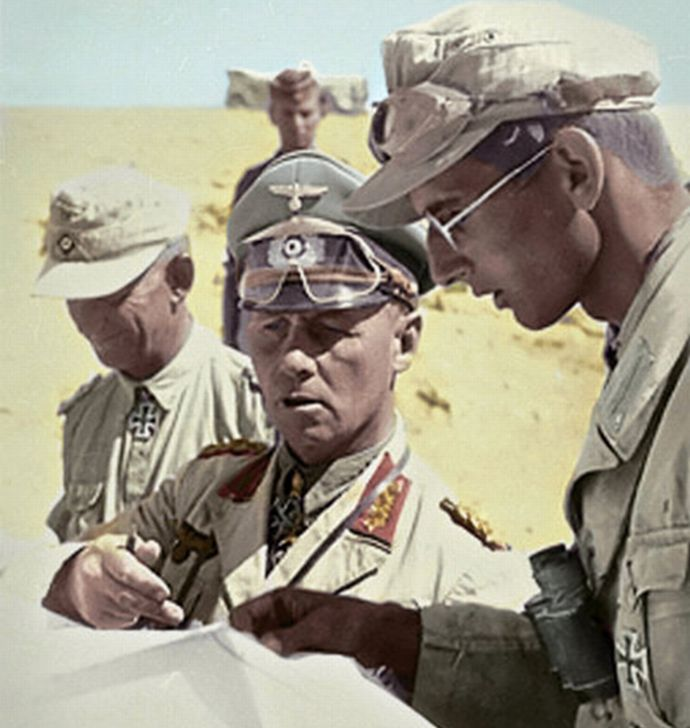 Rommel_with_his_aides_Recolored