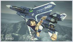 1/72 アイドルマスターシリーズ F-15E ストライクイーグル 如月千早