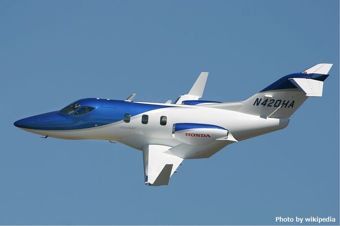 小型ジェット機「ホンダジェット」が日本で型式証明を取得、年内納入へ…既に10機以上を受注!