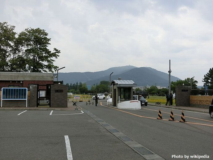 JGSDF_Camp_Makomanai_gate