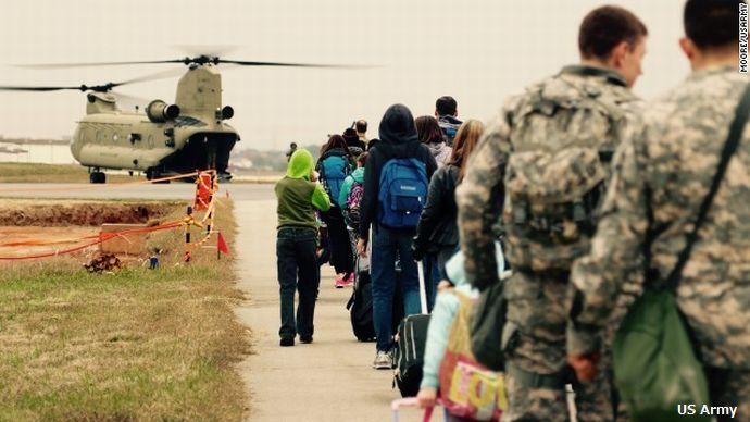 american-family-south-korea-evacuation-drill