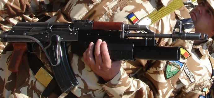 86_with_AG-40_grenade_launcher