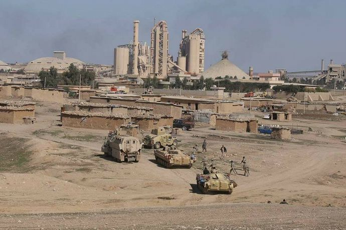 Iraqi-Army-in-Badush-area-west-of-Mosul