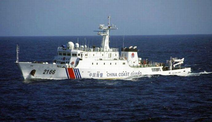尖閣諸島周辺を中国海警船4隻が航行しているのを海保巡視船が確認…11日連続!