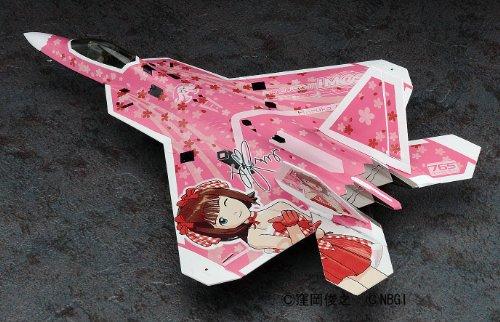1/72 F―22 ラプター アイドルマスター 天海春香