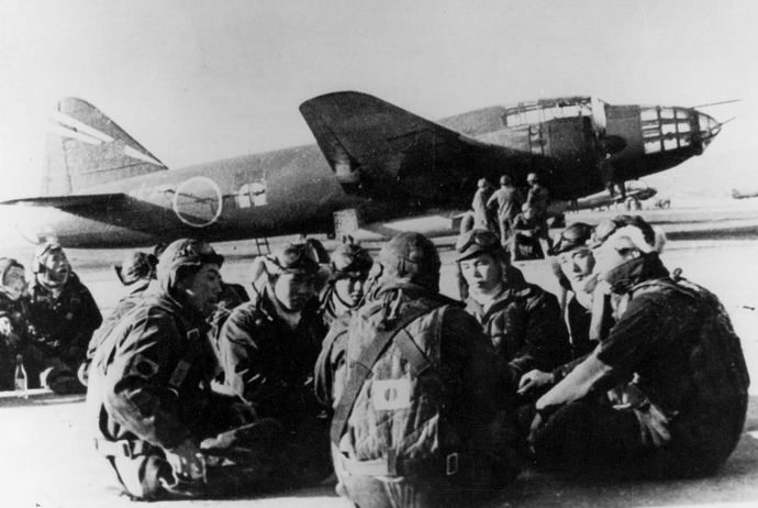 1280px-G4M2e_with_Okha_and_crew_1945