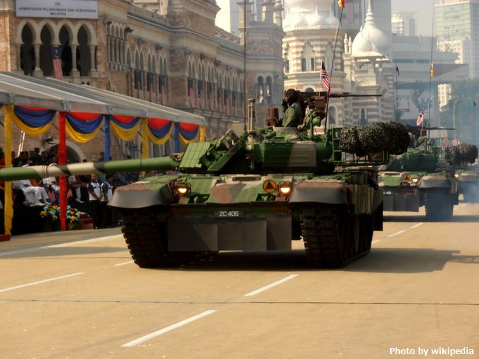 PT-91M_Pendekar_during_56th_NDP