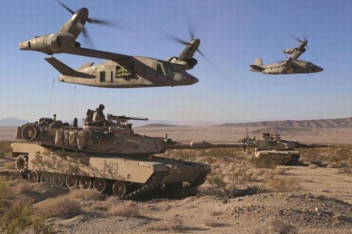 米陸軍が開発中の次世代ティルト...