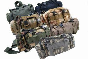 多機能バッグ 5WAY ウエストバッグ メッセンジャーバッグ