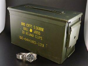 米軍アンモボックス スモール USED