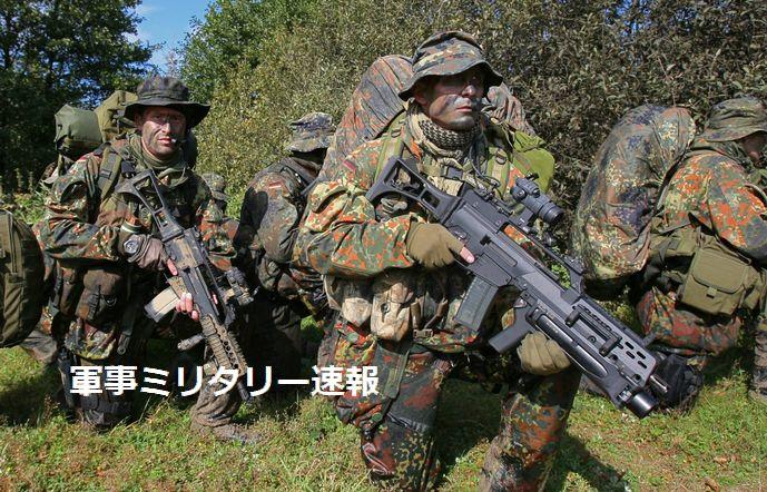 世界各国の特殊部隊が採用しているドイツのG-36自動小銃に欠陥問題…熱くなると照準が狂う!