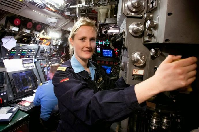 German Navy appoints first female submarine officer 2