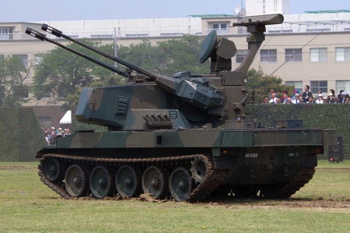 JGSDF_Type_87_Self-Propelled_Anti-Aircraft_Gun_20140429-04