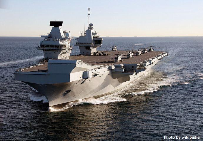 イギリス海軍の最新鋭空母「クイーン・エリザベス」参戦で、中国の南シナ海主権侵害はもはや国際問題に!