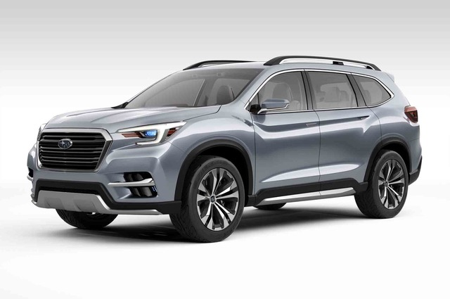 Subaru-Ascent-SUV-concept-front-three-quarter
