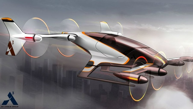 Airbus-self-flying-taxi